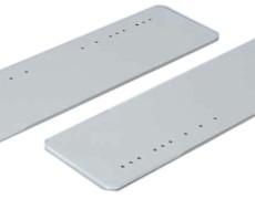 スキー状鉄板(面取り) 900型 (塩害・防雪・温泉地域向けコーティング塗布)2
