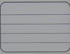 収納商品名5段ステッカー(無地)
